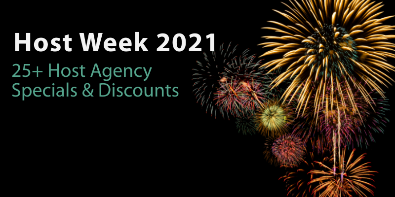 Host Week Discounts, 2021