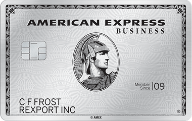 Find the best business credit card - American Express Platinum