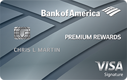 Best Personal Credit Card: Bank of America Premium Rewards