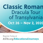 Postponed: ASTA FAM to Romania: Dracula Tour of Transylvania