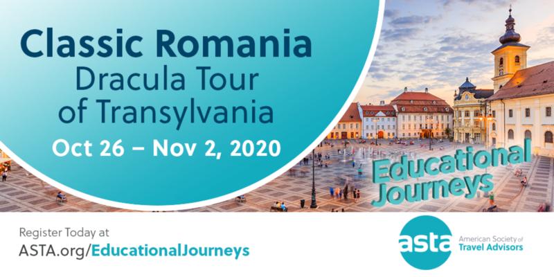 Postponed: ASTA FAM to Romania: Dracula Tour of Transylvania