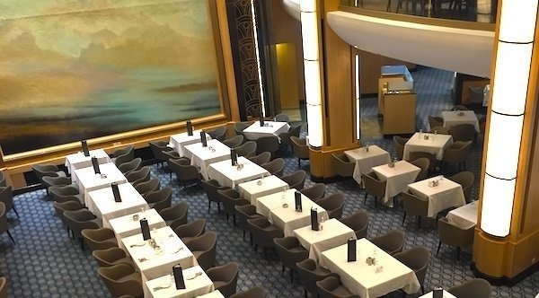 Cruise Ship Inspection/ Dining