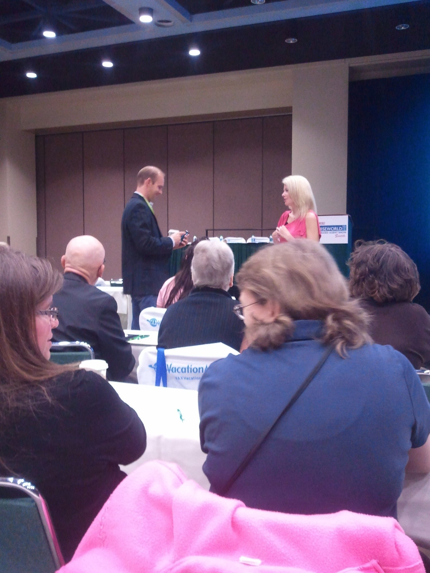 """Keeping the """"Business"""" in Your Home Business—Travel Weekly's CruiseWorld 2012 Live"""