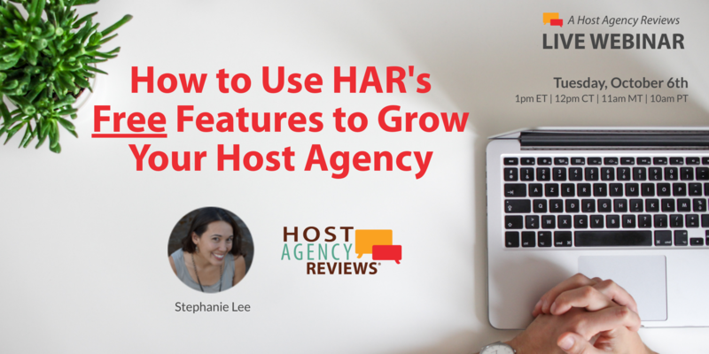 How to Use HAR's Free Features to Grow Your Host Agency