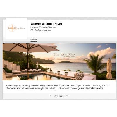 Travel Agent Social Media - Valerie Wilson Travel
