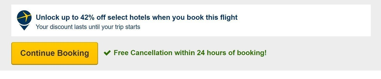 Expedia's DOT's 24-hour rule