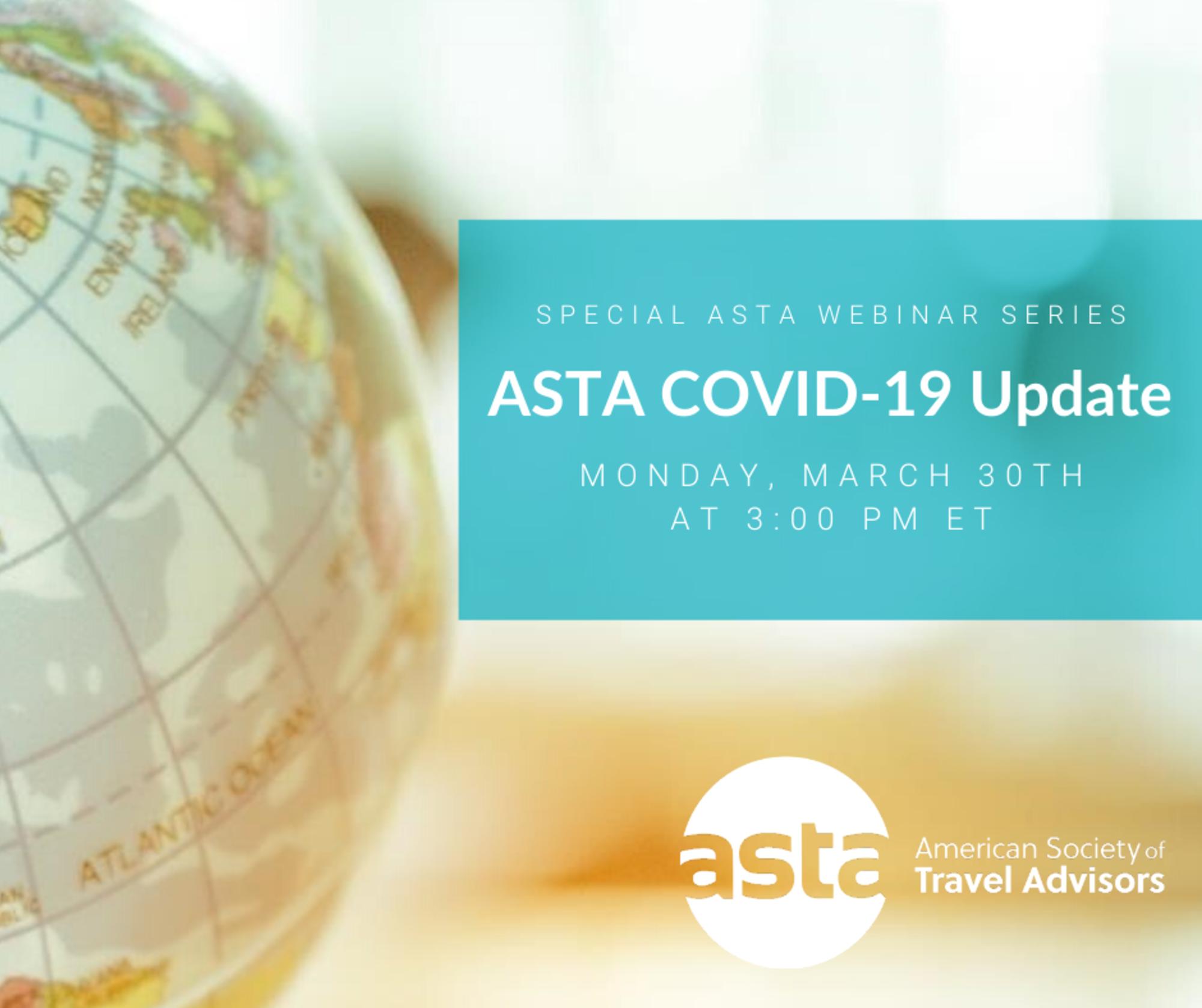 Webinar: ASTA COVID-19 Weekly Update