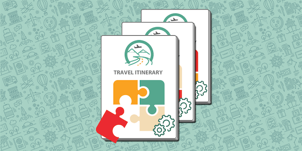 Travel Itinerary Template Form