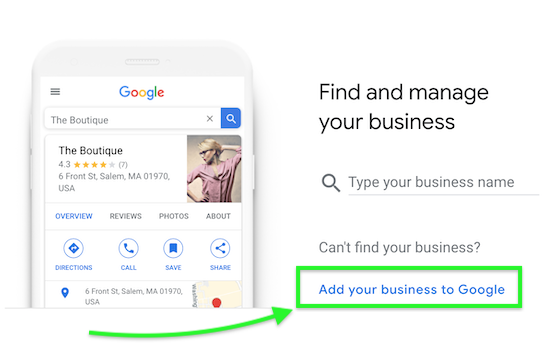 Step 1 - Create Your Google My Business Account