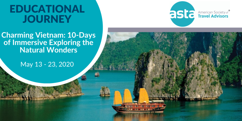 ASTA FAM to Vietnam: 10-Days of Immersive Exploring the Natural Wonders