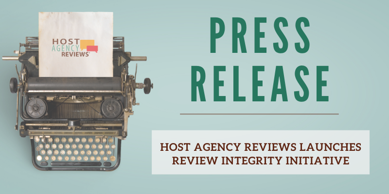 Host Agency Reviews' Review Integrity Initiative