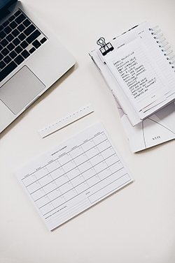 Document your business activity and track expenses