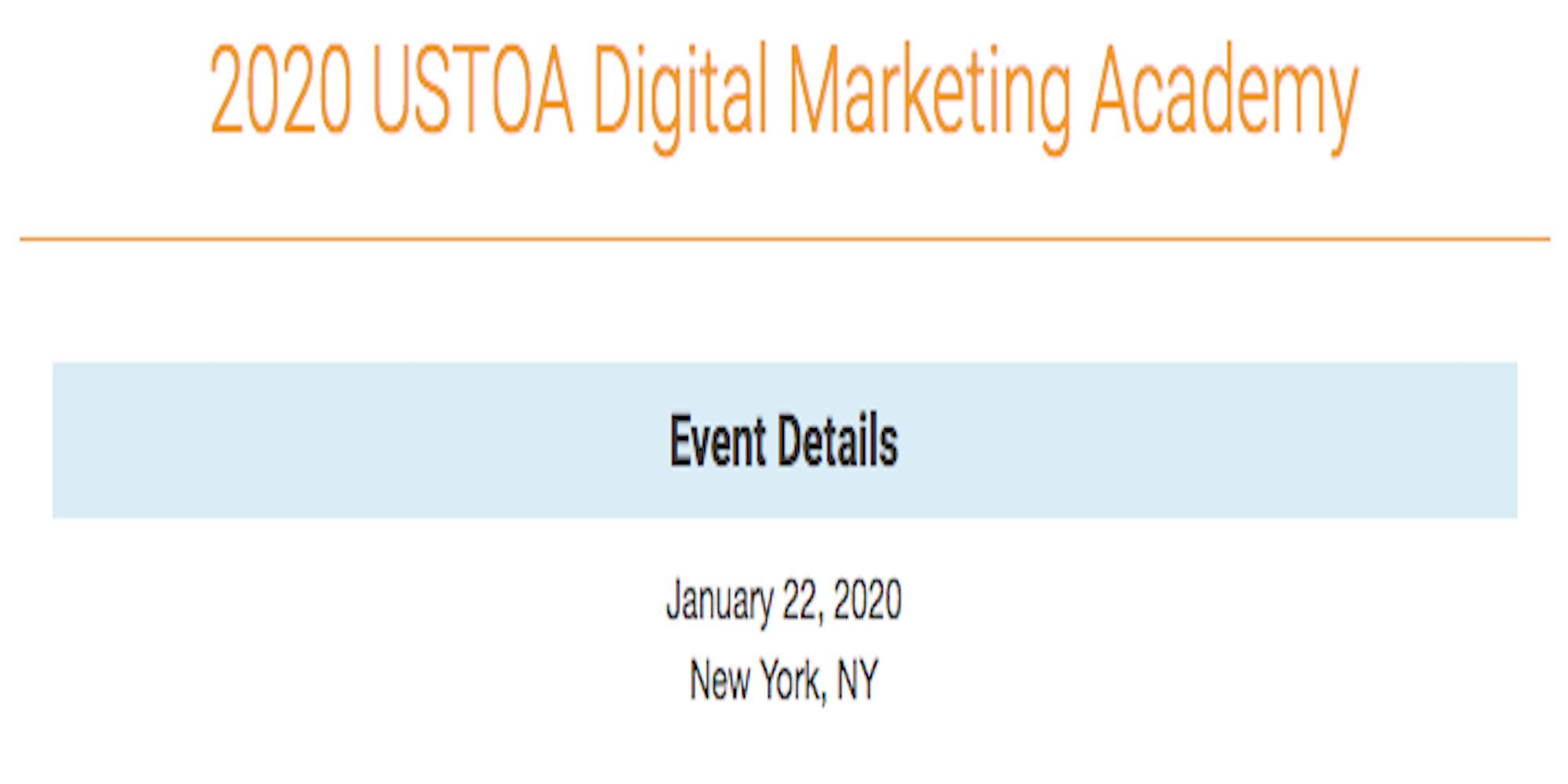 USTOA Digital Marketing Academy