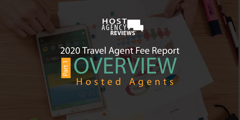2020 Travel Agent fee Report - Hosted Agents