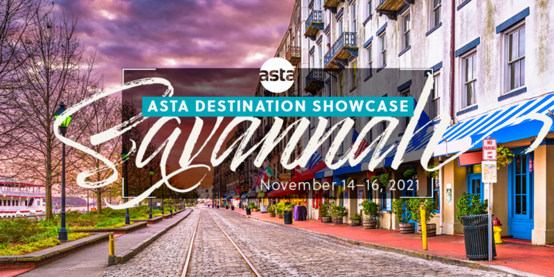 ASTA Destination Showcase 2021 - Savannah, GA