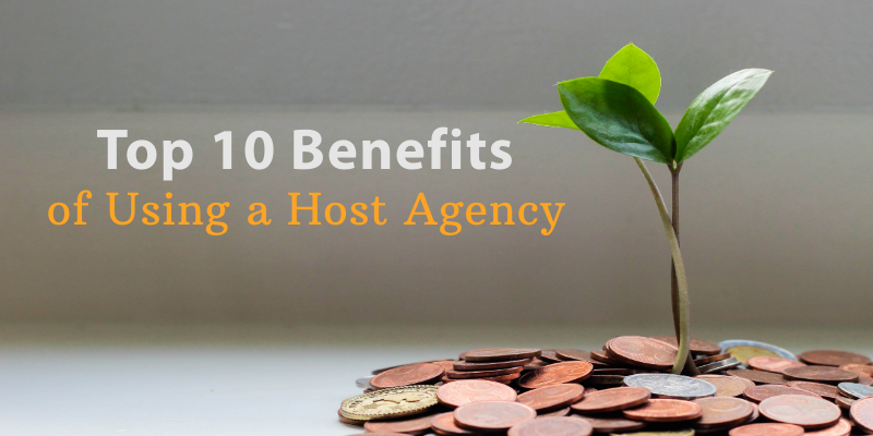 Top 10 benefits of using a host agency