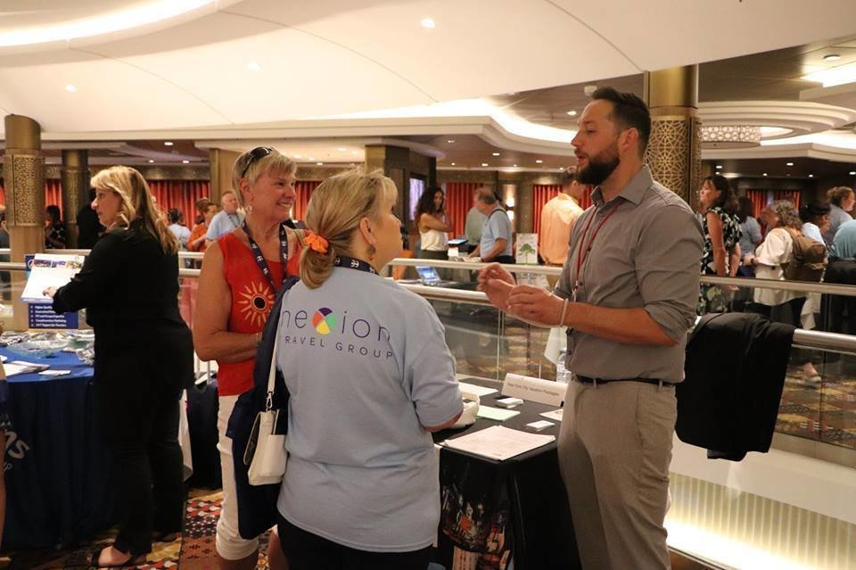 Travel Agents at Nexion's  Annual Member Conference