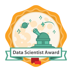 HAR Top Host Agency Data Scientist Award Badge