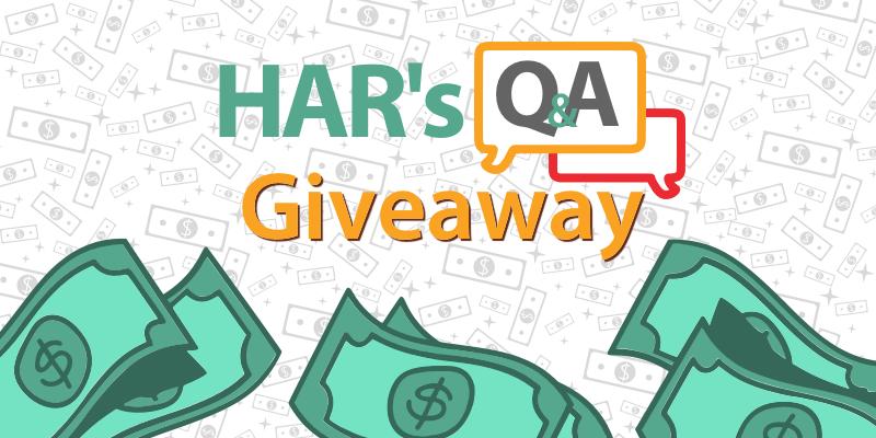 HAR's Q&A Giveaway