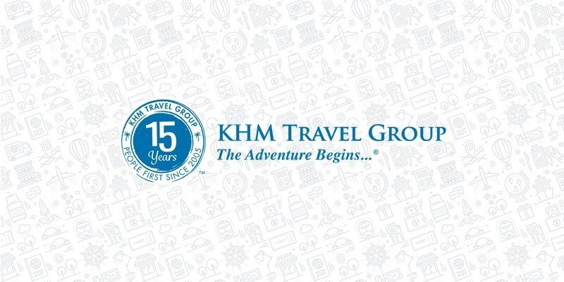 KHM Travel 15 year anniversary