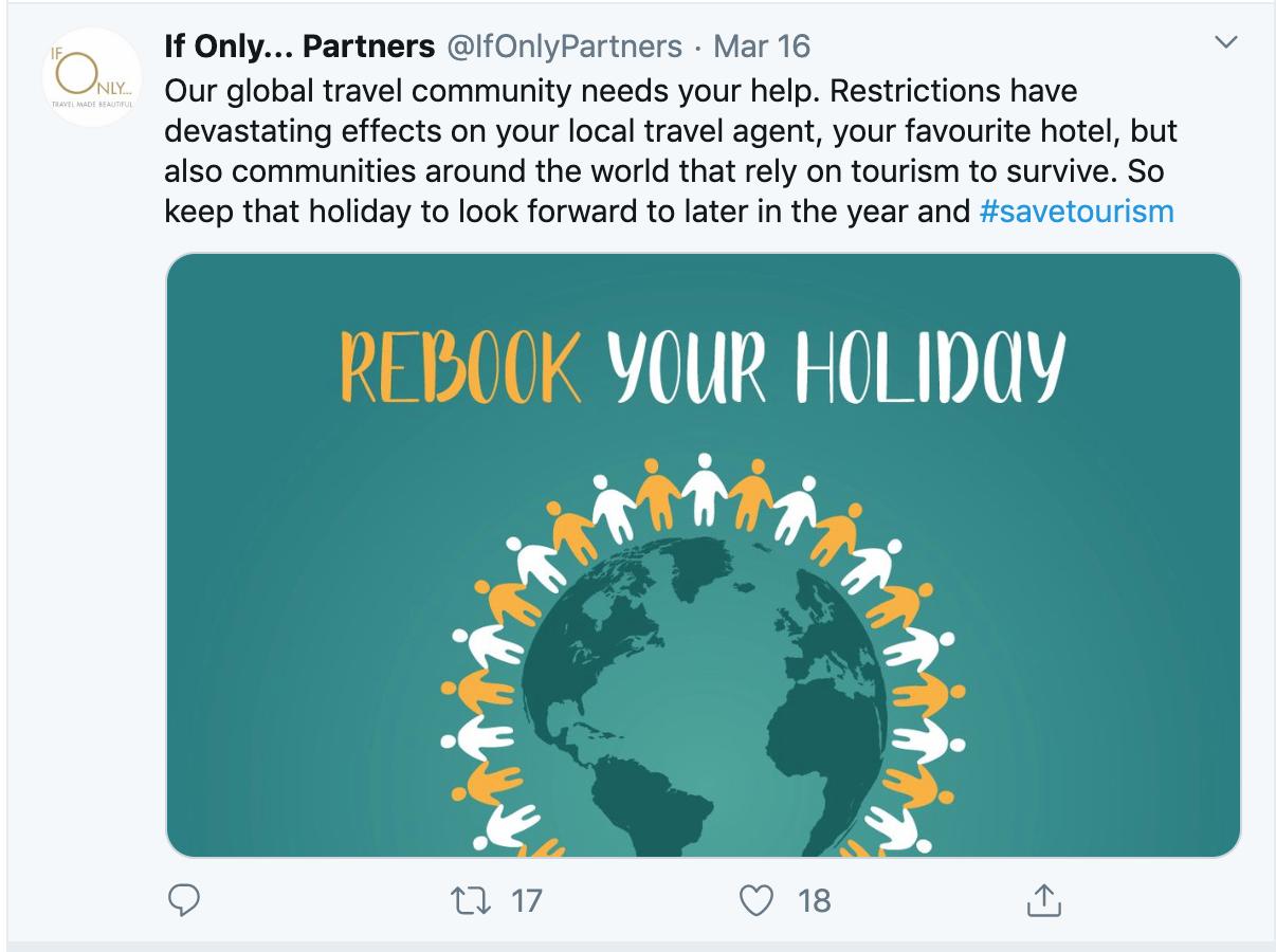 Coronavirus Twitter Example