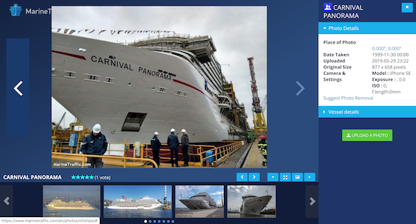 Cruise Ship Tracker Image Gallery