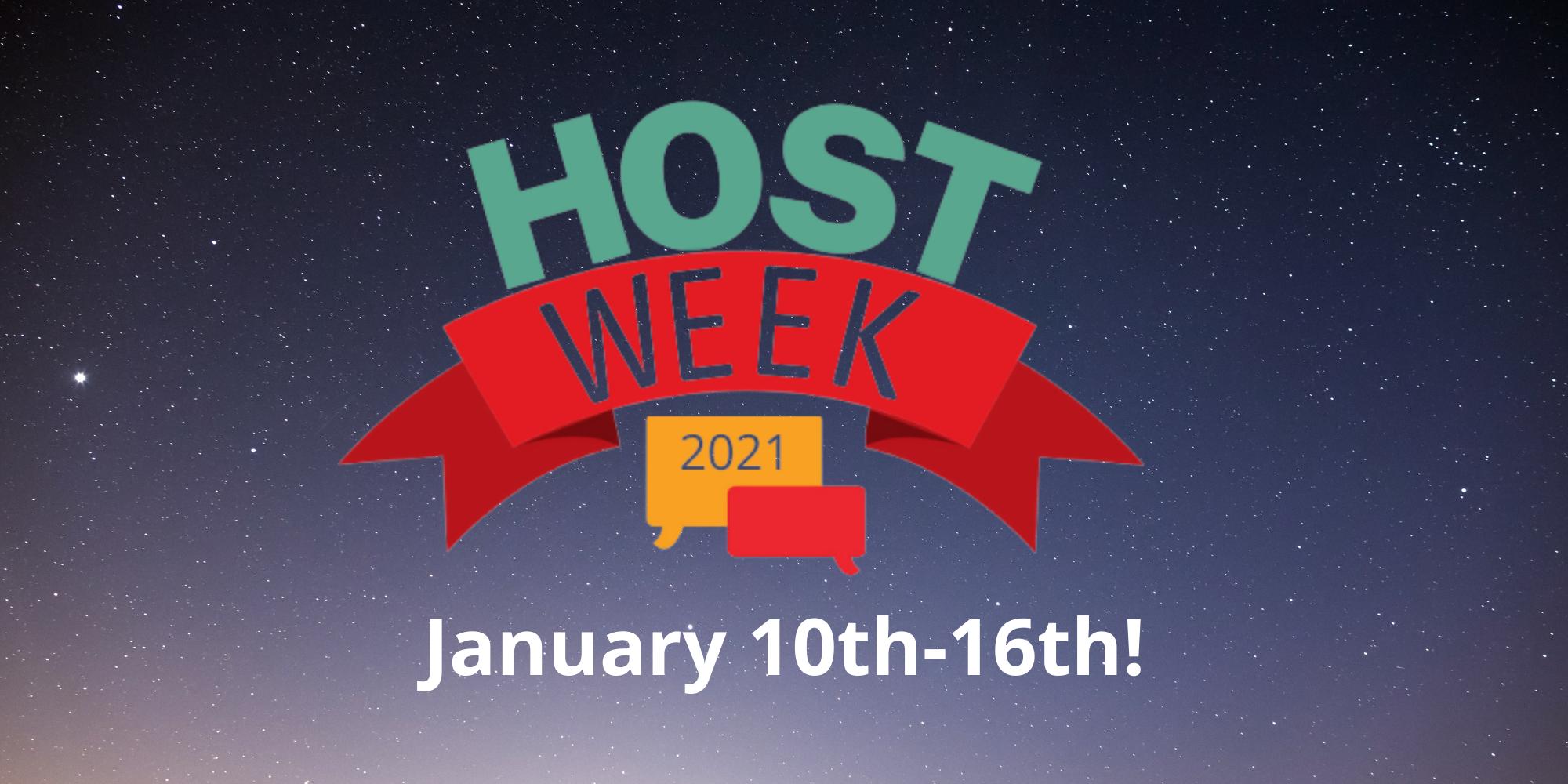 Host Week 2021