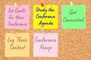 Study the  Conference  Agenda
