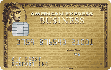Find the best business credit card - American Express Gold