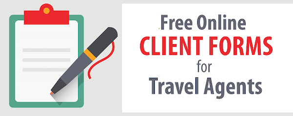 Travel Agent Forms Image