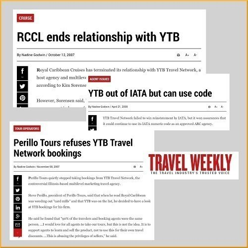 Travel MLM news article headlines