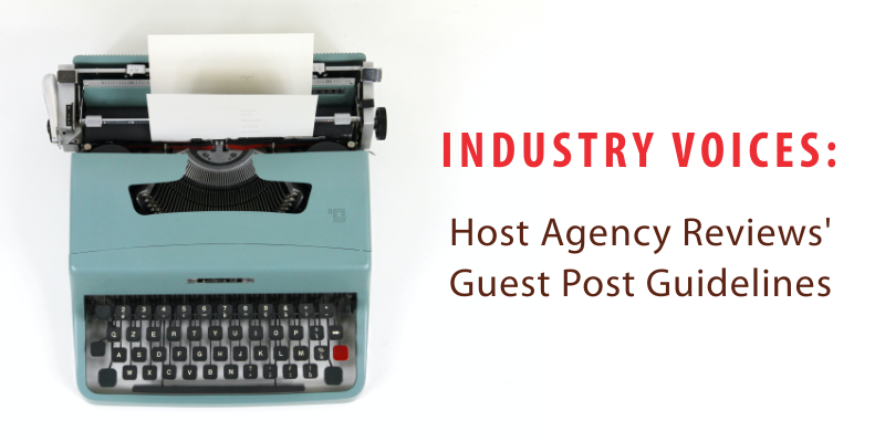 HAR Industry Voices Guest Post Guidelines