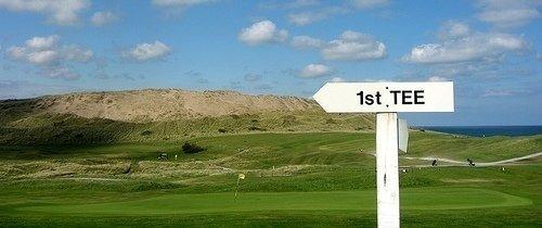 golf course 1st tee