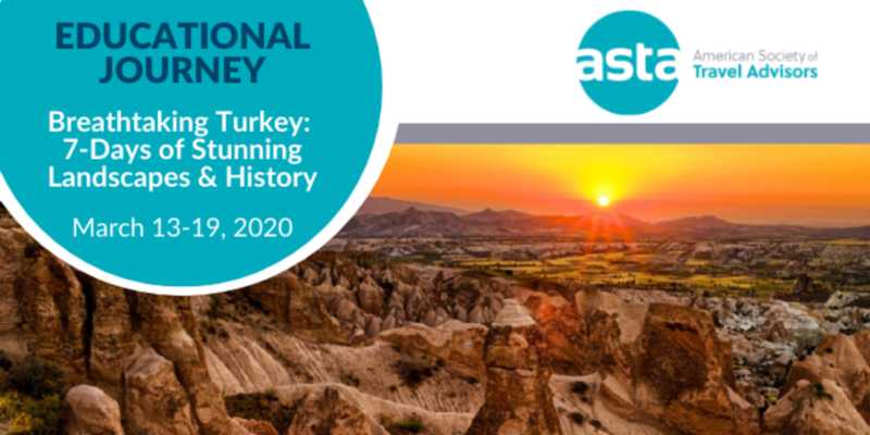ASTA FAM to Turkey: 7-Days of Stunning Landscapes & History