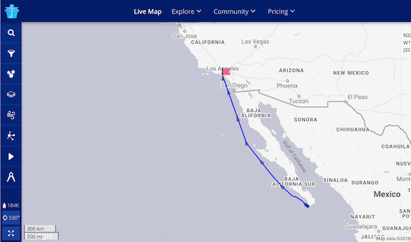 Cruise Ship Tracker – Route Tracker