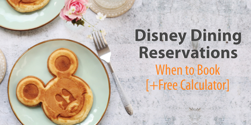 Disney Dining Reservation