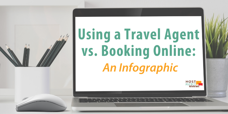 Using a Travel Agent vs. Booking Online: An Infographic