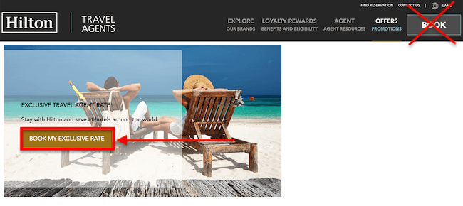 Hilton Travel Agent Rates