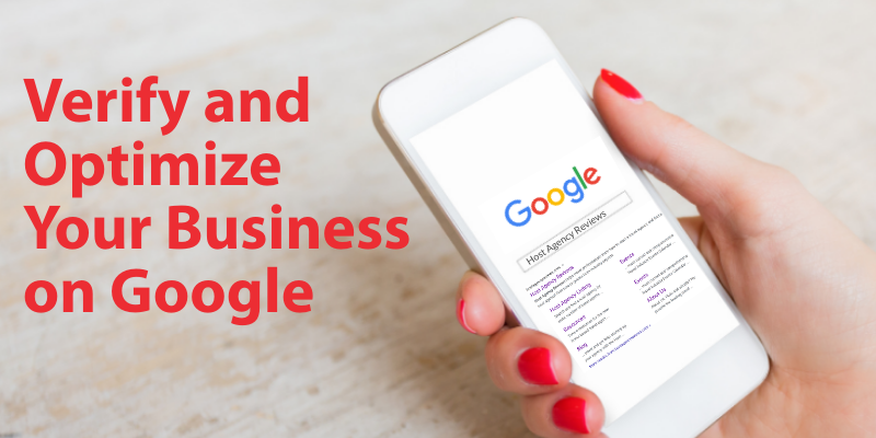 Verify and Optimize Your Business on Google