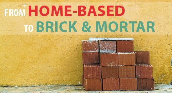 home-based to brick & mortar agency