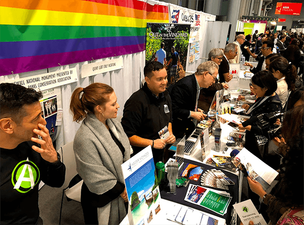 LGBTQ Travel Pavilion at NY Times Travel Show