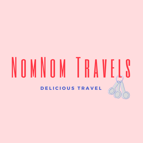 Logo example: NomNom Travels