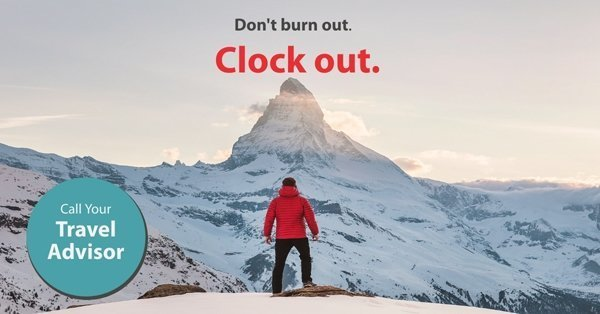 Don't burn out - clock out