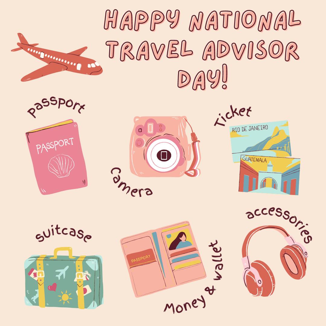 Host Agency Reviews National Travel Advisor Day Social, 2021