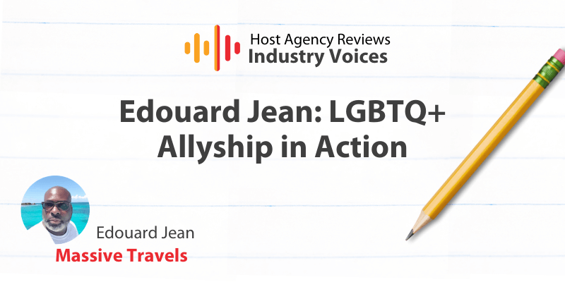 Host Agency Review Industry Voices, Edouard Jean