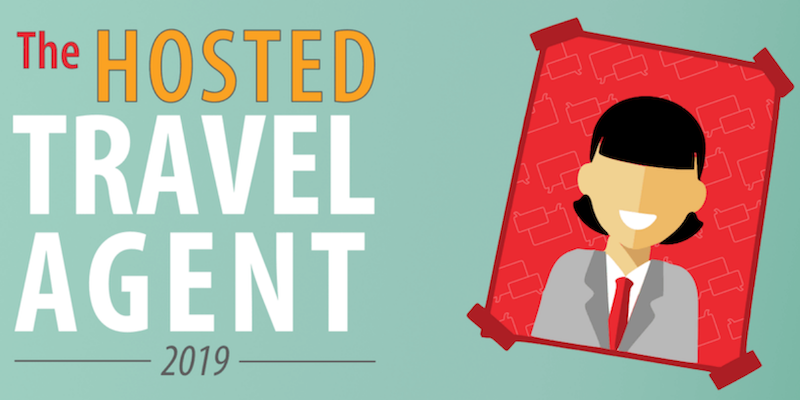 Who Is the Hosted Travel Agent in 2019?