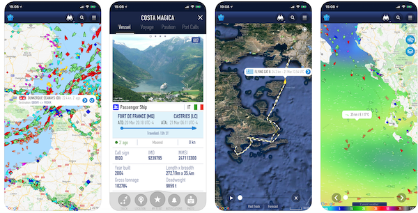 Cruise Ship Tracker Mobile App