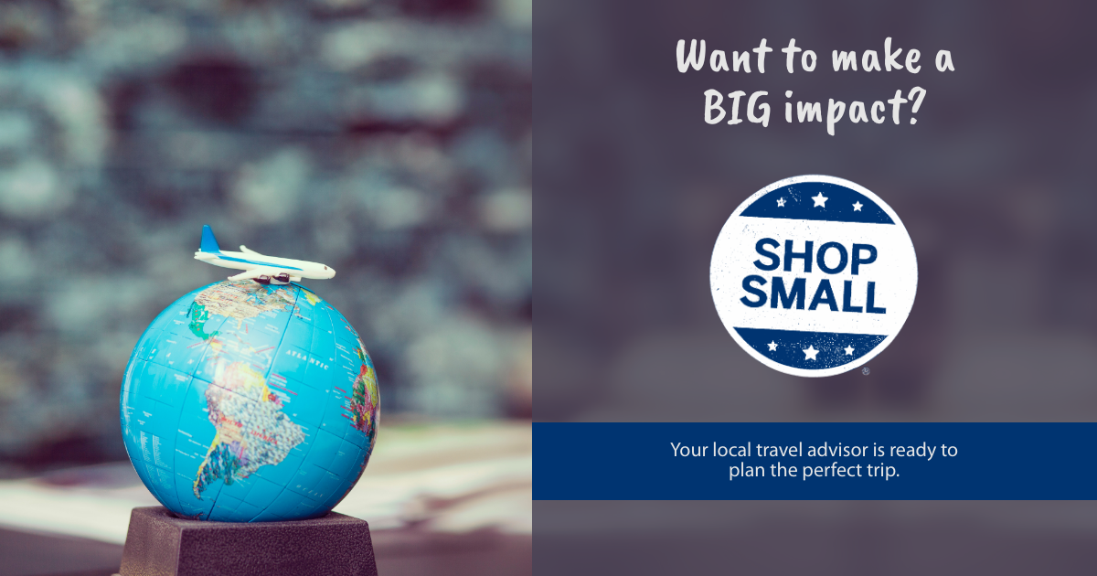 Small Business Saturday - Want to make a Big Impact Social Shareable