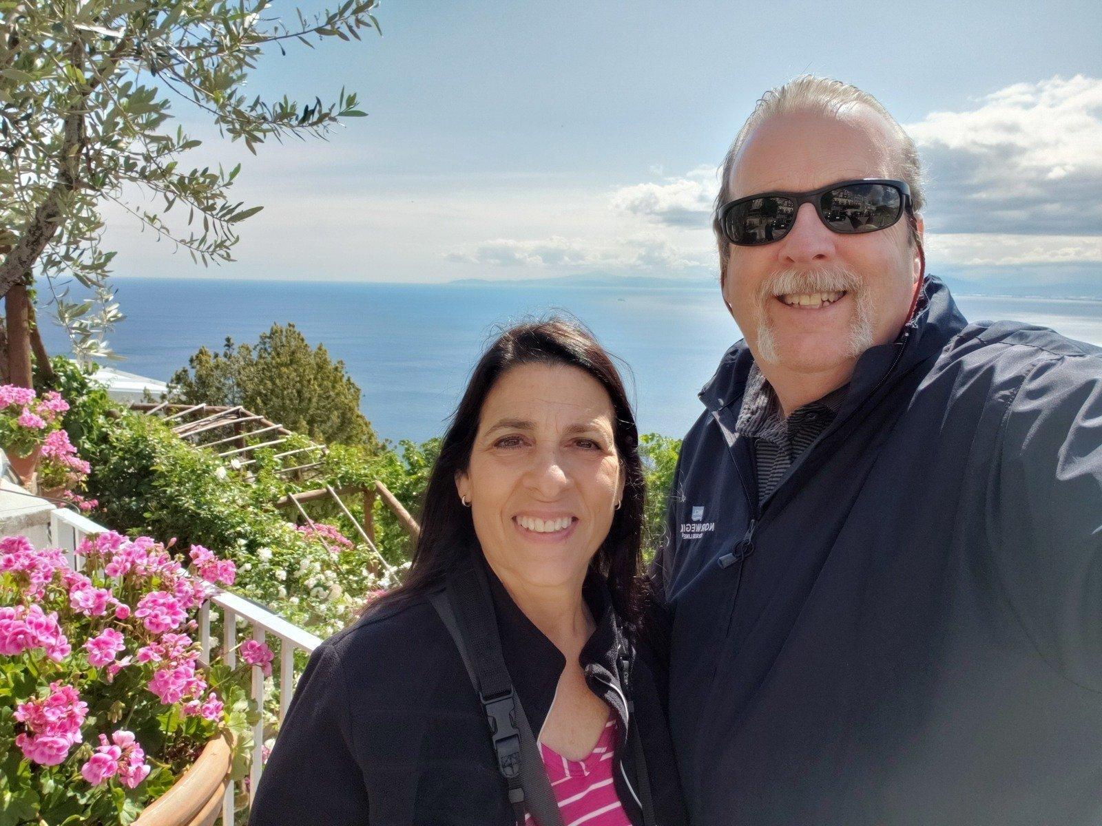 Deb and Mike Amalfi Coast