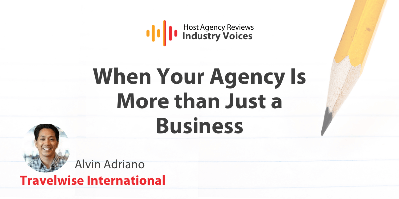 Alvin Adriano, Travelwise, Industry Voices